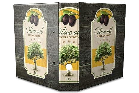 Archivador A4 Carpeta 2 anillas 60mm impreso Aceite de oliva virgen extra