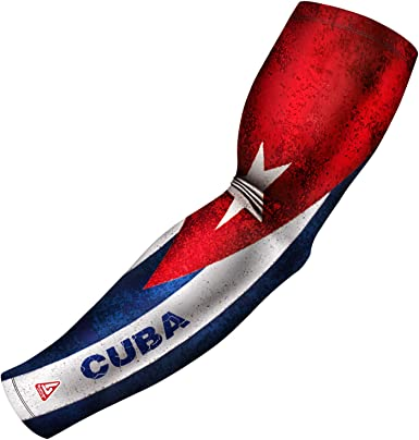 Mexico Puerto Rico /& More B-Driven Sports Athletic Sport Compression Arm Sleeve USA 1 Sleeve