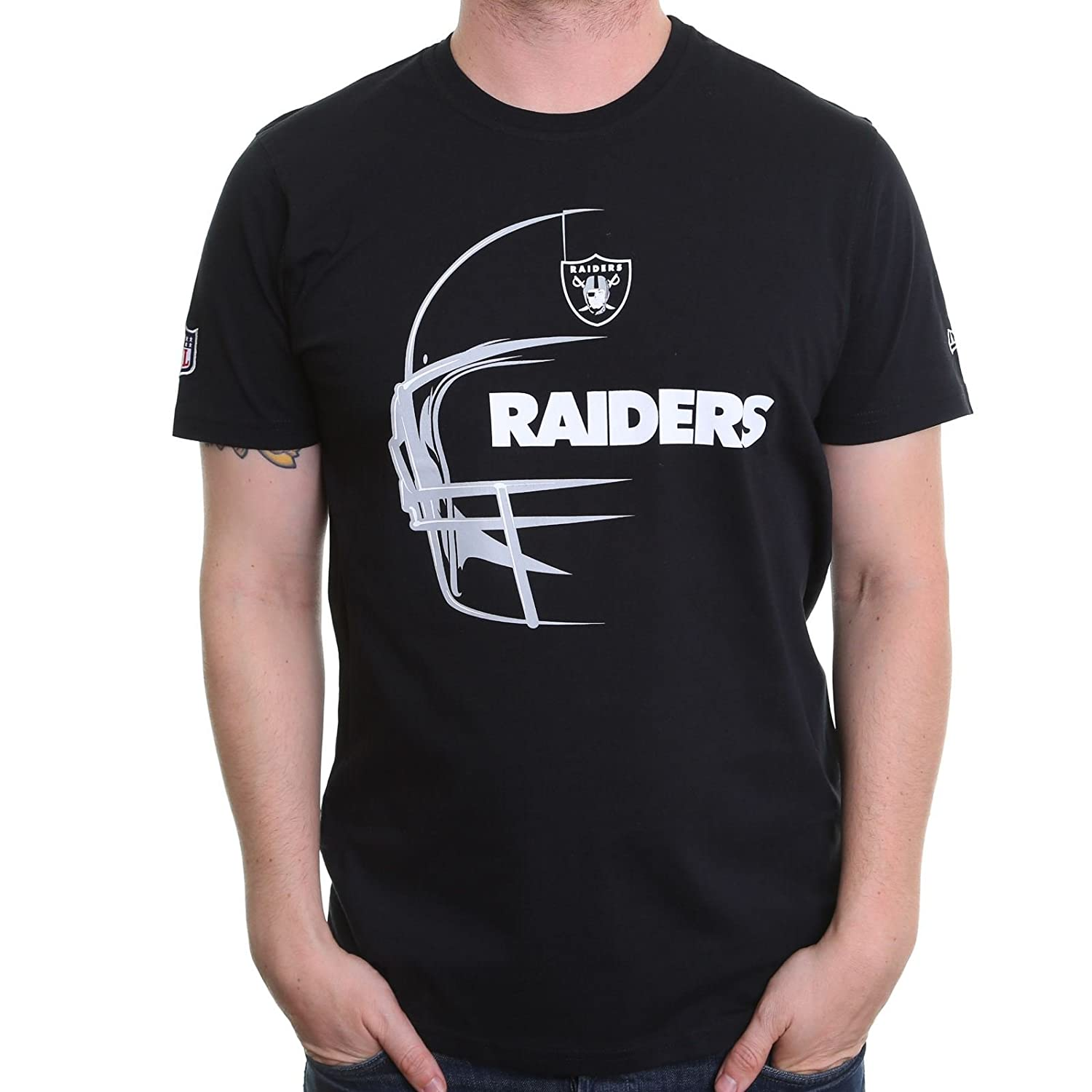 Nuova Era Headshot T-shirt ~ Oakland Raiders 11409846