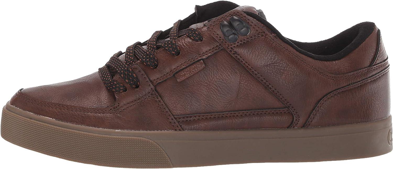 5 M US Work wear//Dark Brown Osiris Mens Protocol Skate Shoe