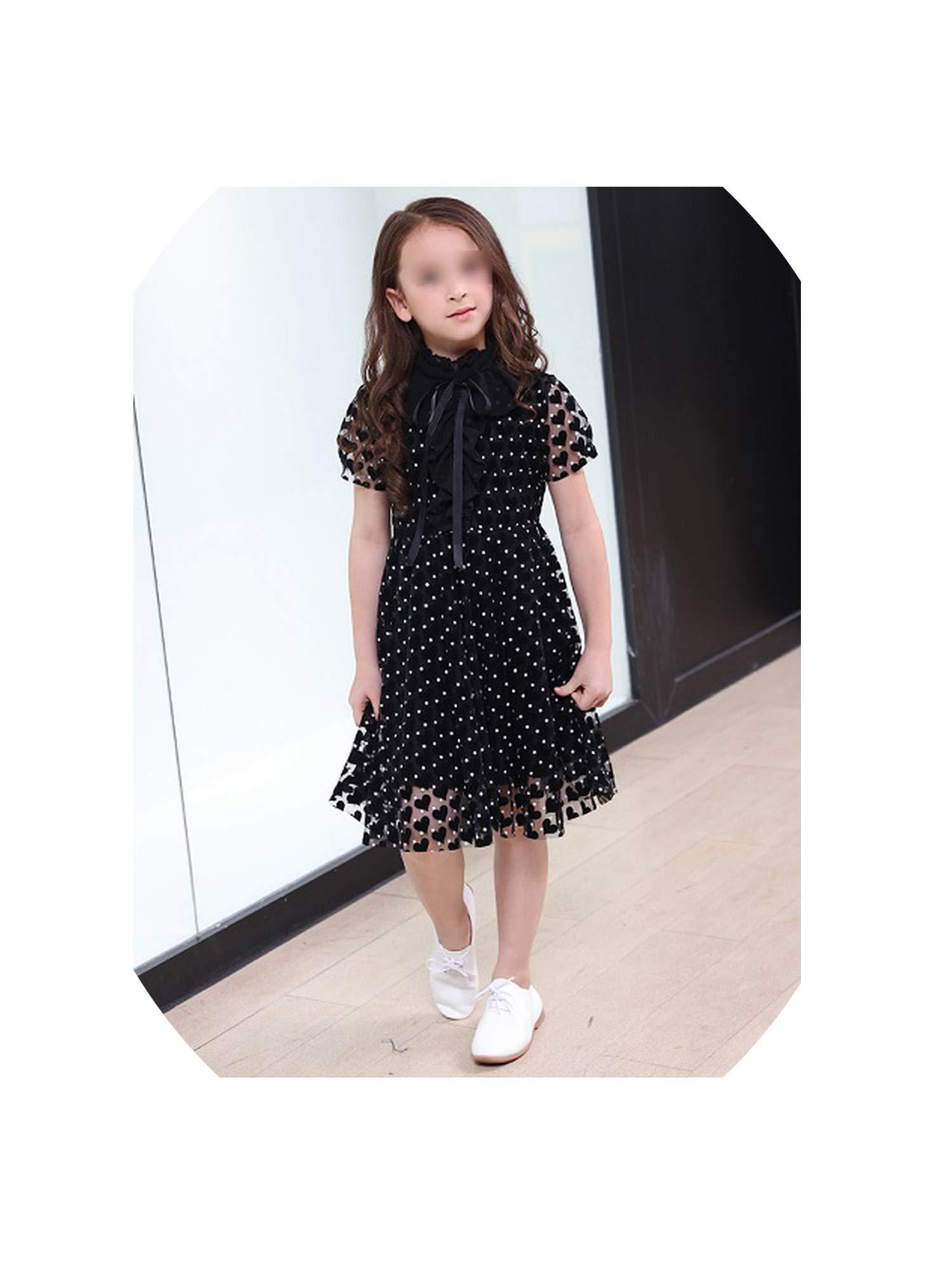 Kids Elegant Dress for Girls Costumes Teen Girl Summer Dresses Party Teenage Clothing Kids Casual Dresses for Children 6-16 Year, 8