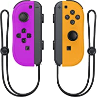 Wireless Switch Joycon Controllers, D.Gruoiza Joy Con Controller Compatible for Switch Support Wake-up Function with…