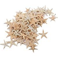 JINLL 100 Stks Thuis Diy Leuke Mini Zeesterren Shell Strand Decoratie Craft Maken Ornament Voor Bruiloft Decor Craft
