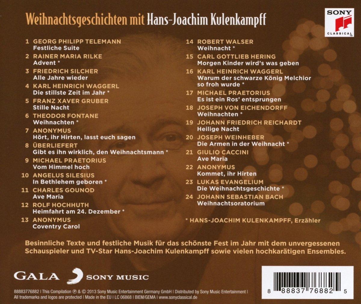 Weihnachtsgeschichten mit Hans-Joachim Kulenkampff - Hans-Joachim ...
