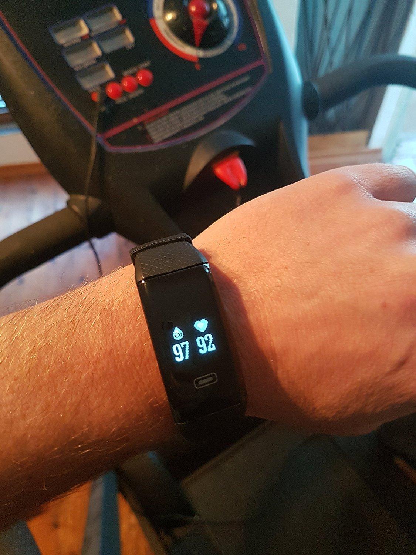 BerryKing - Pulsera de actividad mide pulso, oxígeno ...