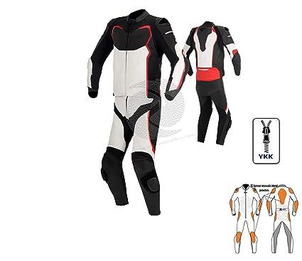 Zens Traje de piel para motocicleta, traje de dos piezas ...