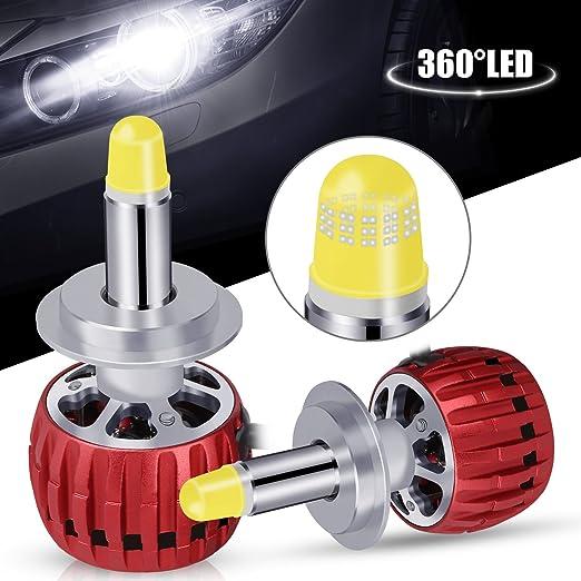 Opinioni per oasser 360 led h7 kit lampadine per la macchina for Lampadine h7 led