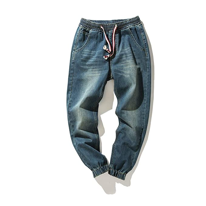 af40ab6fefd8 Zooka Fashion Mens Jeans Jogger Pants Destroyed Drawstring Ripped Cargo Hip  Hop  Amazon.co.uk  Clothing