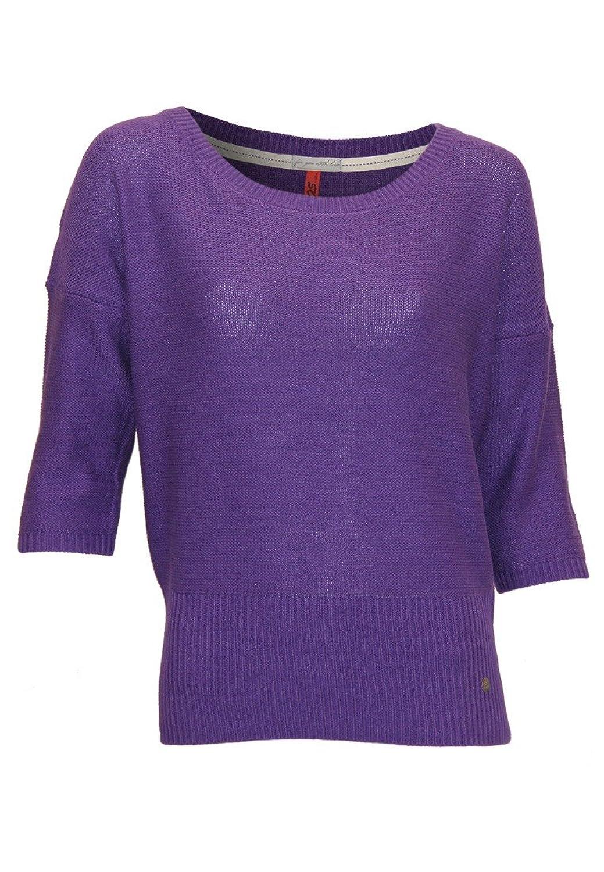 Damen Long Pullover verschiedene Größen Pulli von S blau oder lila Oliver