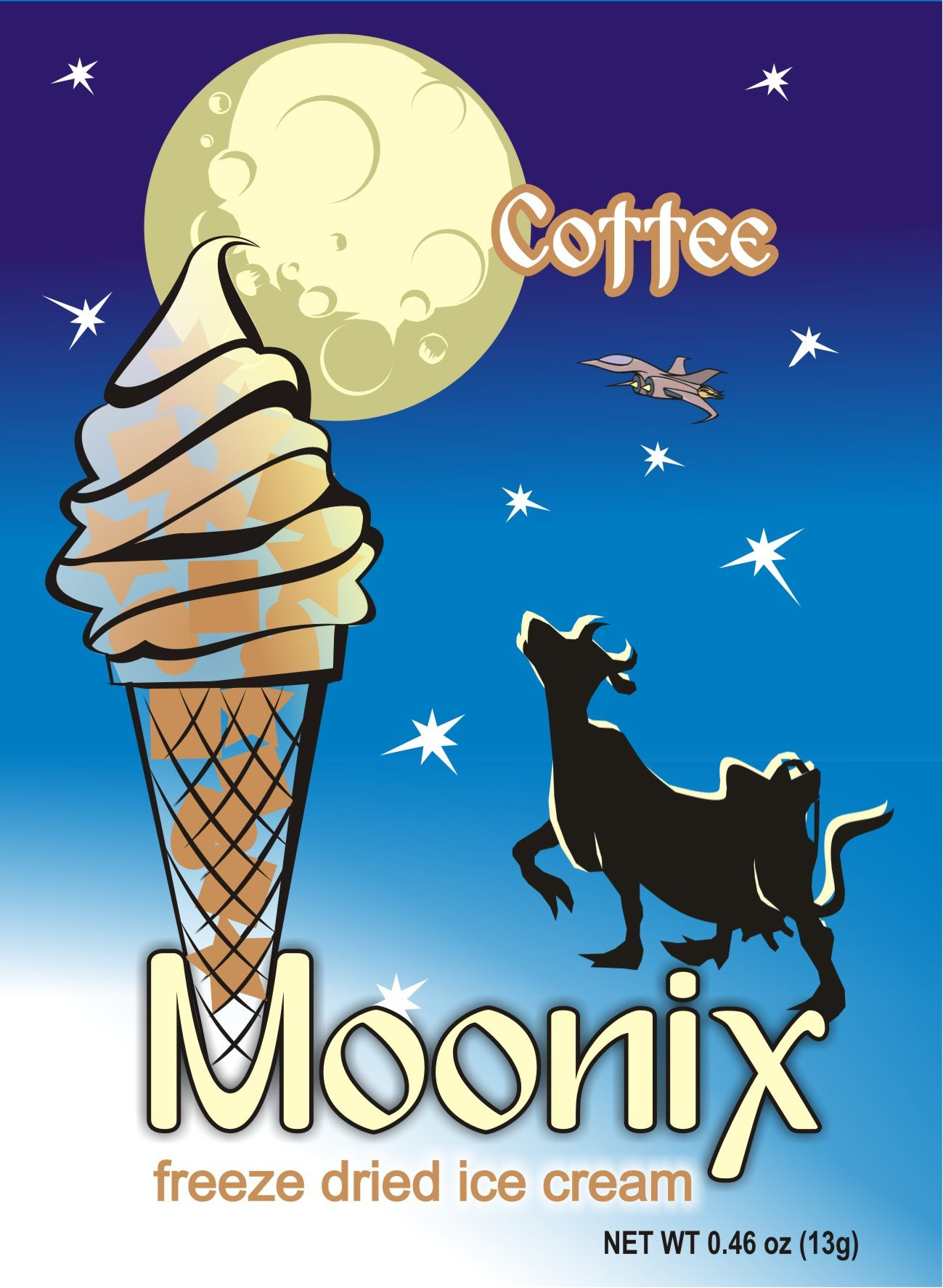 Moonix Freeze Dried Ice Cream (Coffee)