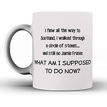 Outlander Skye Boat Song Coffee Mug /(White/) - Outlanders