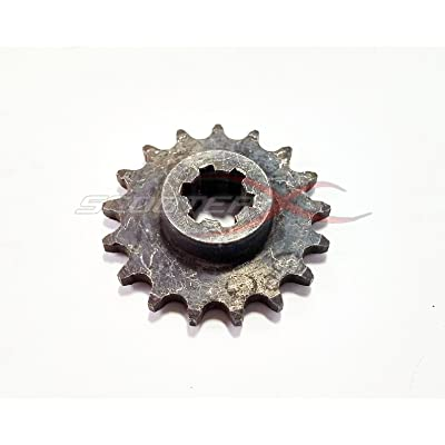 Scooterx 17 Tooth Sprocket for Gas Scooter, Pocket Bike, Mini Chopper, Gas Skateboard [4500]: Toys & Games