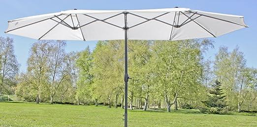 Grande Doble de sombrilla, gigante sombrilla, 4, 65 m de ancho ...