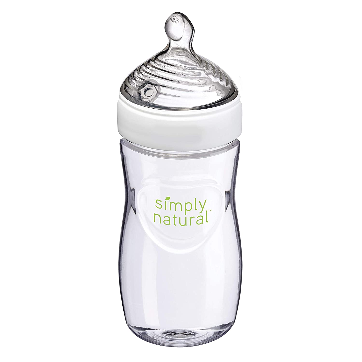 NUK Simply Natural Baby Bottle, 9 Oz