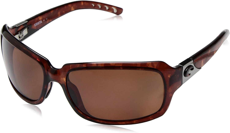 Costa Del Mar Women's Isabela Rectangular Sunglasses