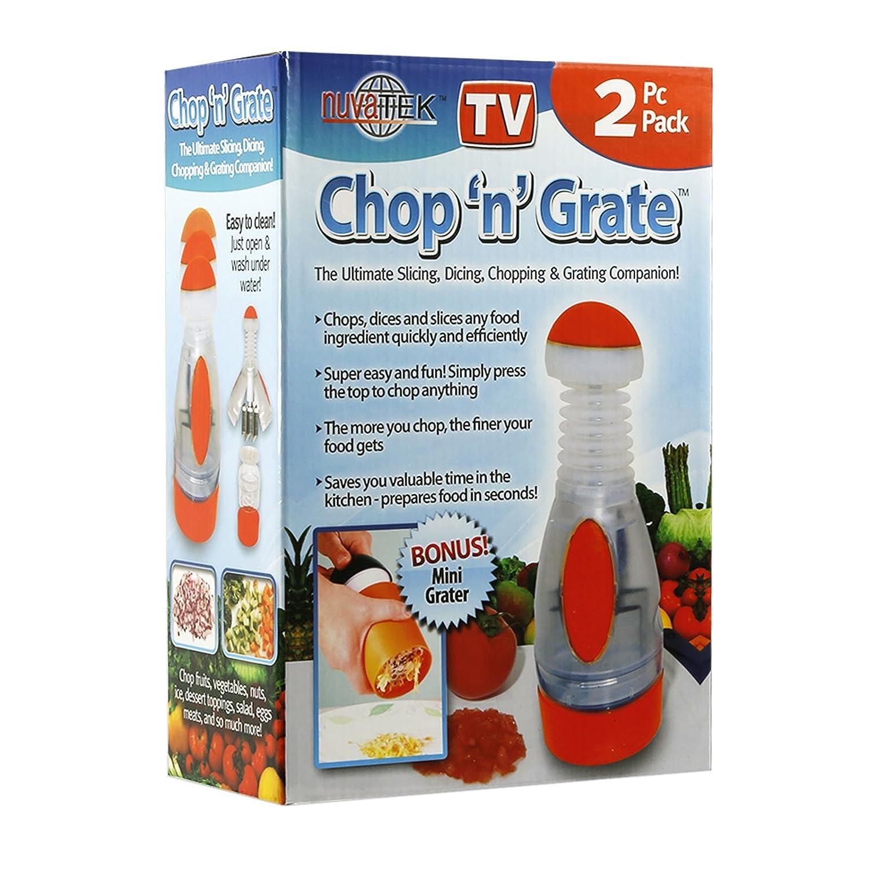 Amazon.com: Chop n Grate Plus Mini Grater The Ultimate Slicing ...