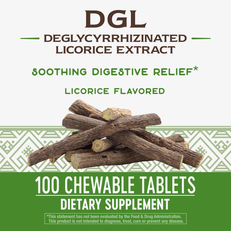 Amazon.com: Masticables Enzymatic Therapy DGL, 09001, 1, 1 ...