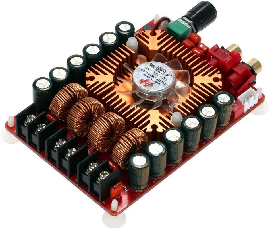 KKmoon Módulo, Dual Channel, Audio Estéreo, tarjeta/Amp, Micro-USB-DC/DIY Bluetooth, Receptor de audio, PartialUpdate