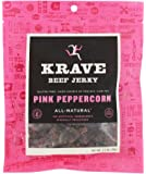 Krave Jerky - All Natural Beef Jerky Pink Peppercorn - 2.7 oz.