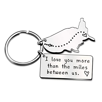 Image Unavailable Not Available For Color Key Chain Ring Best Friend Valentine Long Distance Relationship Gift