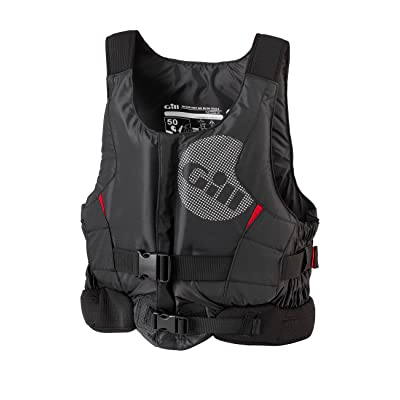 2016 Gill Pro Racer Front Zip Buoyancy Aid Black - NEW STYLE 4917 Sizes- - Small