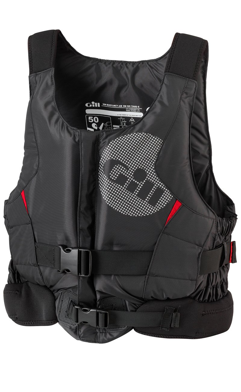 Gill 2016 Pro Racer Front Zip Buoyancy Aid schwarz 4917 Größes- - Small