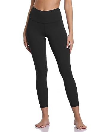 b25c2c3c37 Colorfulkoala Women's Buttery Soft High Waisted Yoga Pants 7/8 Length  Leggings (XS,