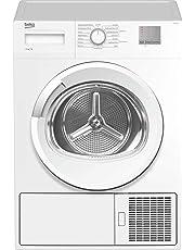 Beko DTGC8011W Freestanding B Rated Condenser Tumble Dryer - White