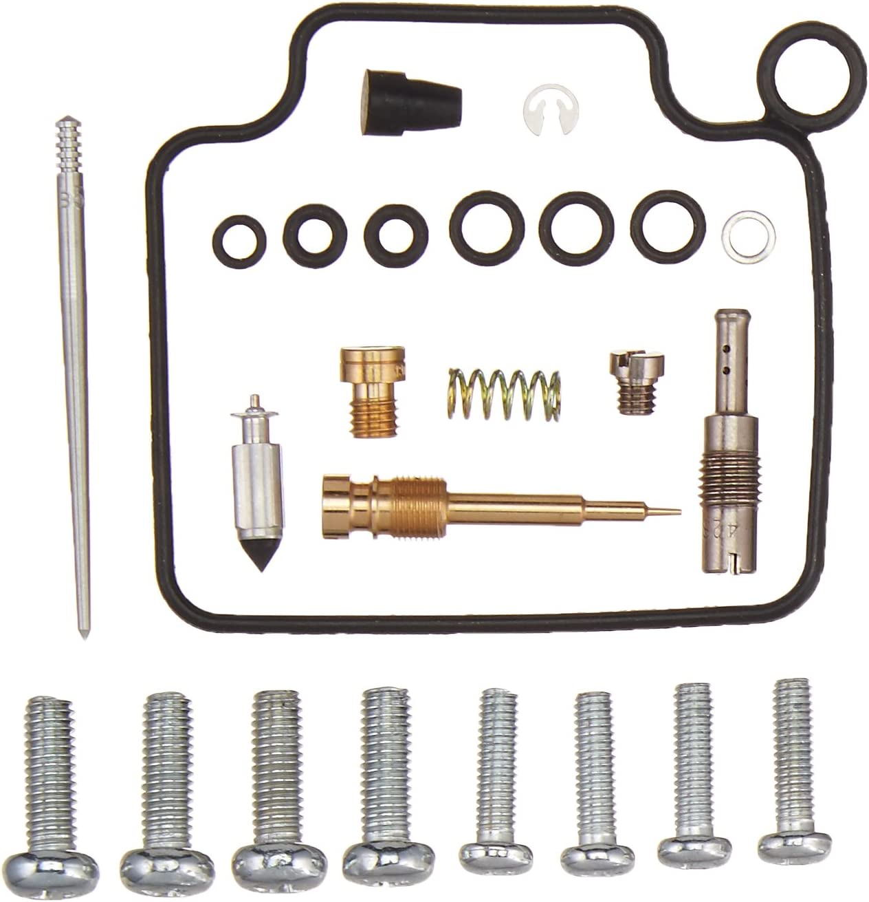 All Balls 26-1210 Carburetor Repair Kit 26-1210 Honda TRX350 Rancher 2x4//4x4 2000-2003