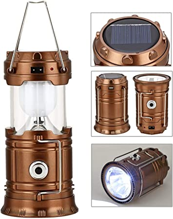 Lots Collapsible Battery Powered Outdoor Camping Lantern Light LED Hand Lamp