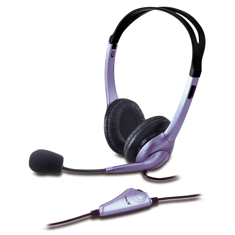 Genius Hs-04s - Auriculares con micrófono