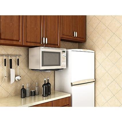 Amazon.com: Xavax Soporte para microondas, color plateado ...