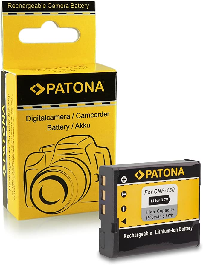 Patona Akku Np 130 Kompatibel Mit Casio Exilim Kamera