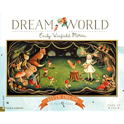 New York Puzzle Company - Dream World Elven Dream - 80 Piece Jigsaw Puzzle: Toys & Games