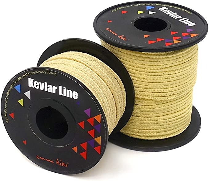 500lbs Braided Kevlar Line Camping Multifunctional Assist Cord Made with Kevlar