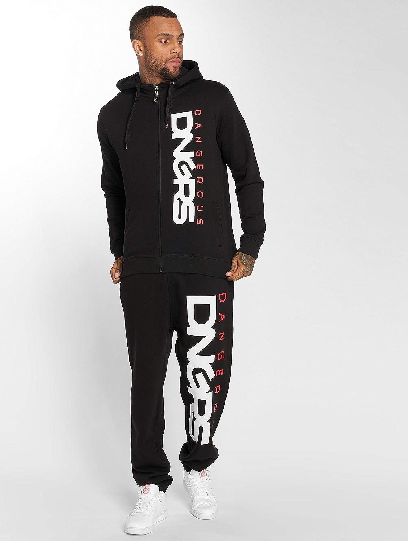 Dangerous DNGRS Surv/êtement Homme Noir Noir
