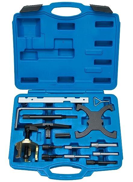 FreeTec – Herramientas de ajuste de motor, correa dentada, herramienta de bloqueo para Ford