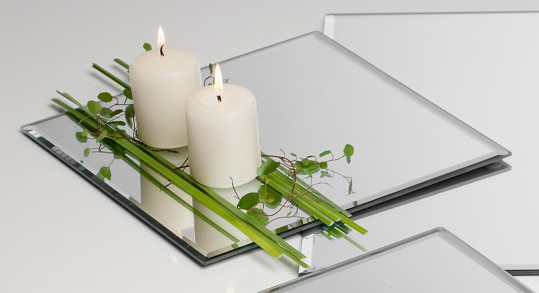 Spiegelplatte Mirror 25,0 x 25,0 cm 12 Stück von Sandra Rich
