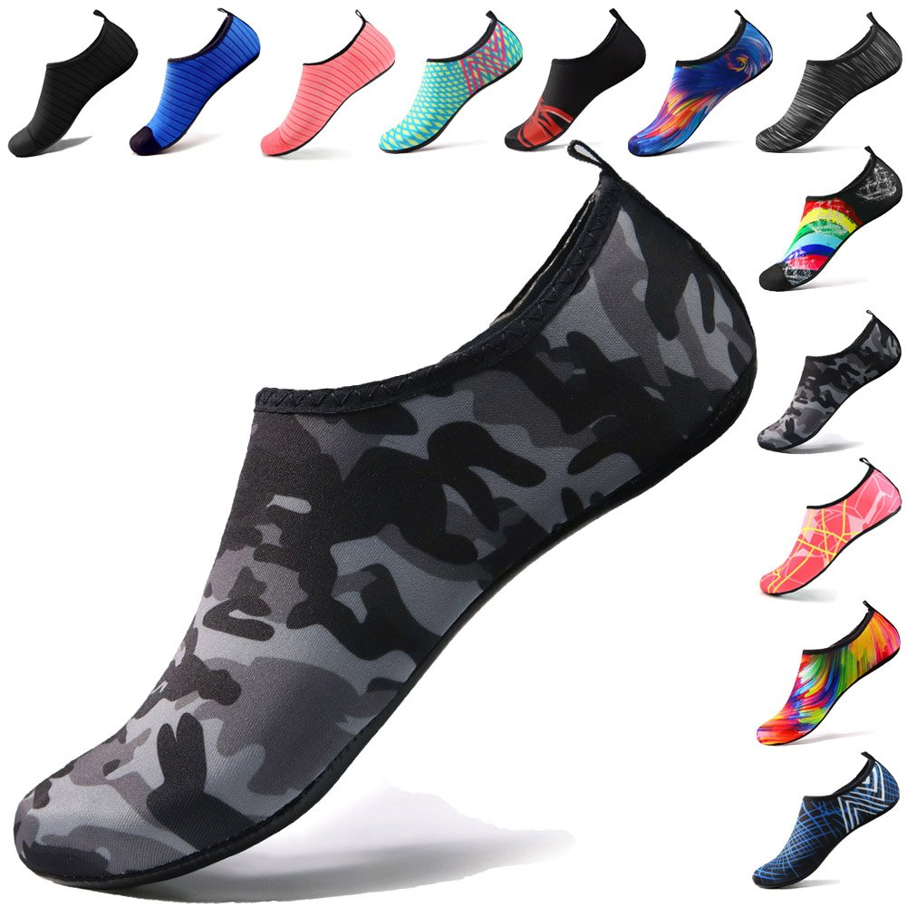 STEELEMENT. Water Shoes Yoga Shoes for Men & Women Sports Yoga Socks Perfect Stockings for Hiking Climbing Swimming Athletic Travel(WS02-40)