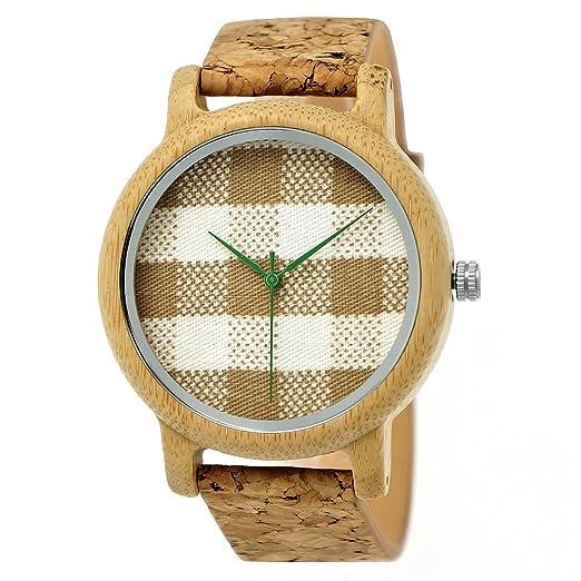 Hecha a mano de madera de Alemania® – Reloj unisex Reloj de hombre de mujer