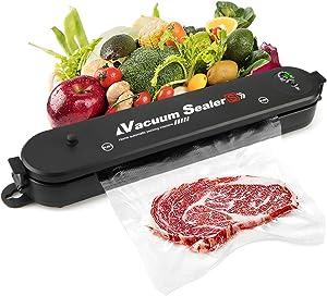Vacuum Sealer Machine for Food, Food Vacuum Sealer Machine, Vacuum Food Sealer Machine, Vacuum Packing Machine for Food Storage and Fruit Storage with 15 Food Grade Vacuum Bags, 2021 Upgraded