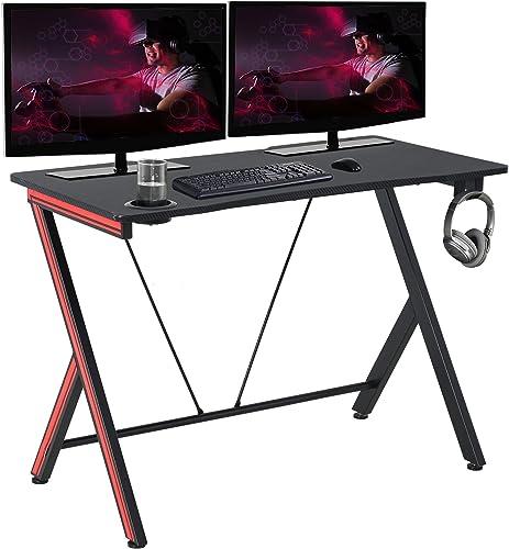 HOMCOM 47 inch Gaming Computer Desk