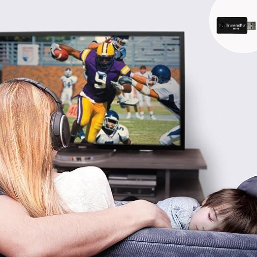 Bluetooth transmisor, yetor 3,5 mm estéreo portátil inalámbrico de audio Bluetooth Transmisor para televisor, ipod, mp3/mp4, usb Fuente de alimentación (tx9 -2018): Amazon.es: Electrónica
