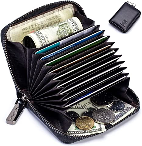 MENS LUXURY SOFT QUALITY LEATHER WALLET PURSE BLACK 101A CREDIT CARD HOLDER