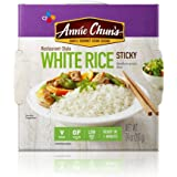 Annie Chun's Cooked White Sticky Rice, Gluten-Free, Vegan, Low Fat, 7.4-oz (Pack of 6)