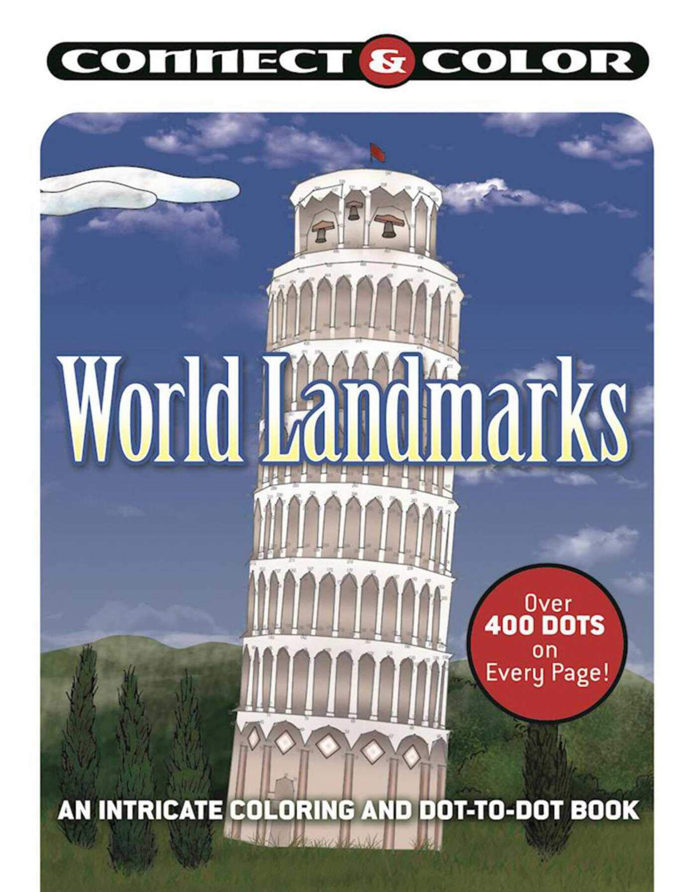 World Landmarks An Intricate Coloring and Dot-to-Dot Book Connect and Color