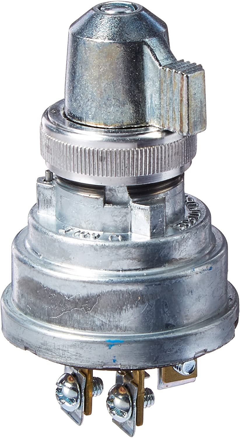 Cole Hersee 956-3127-BX Ignition Switch 3 Position