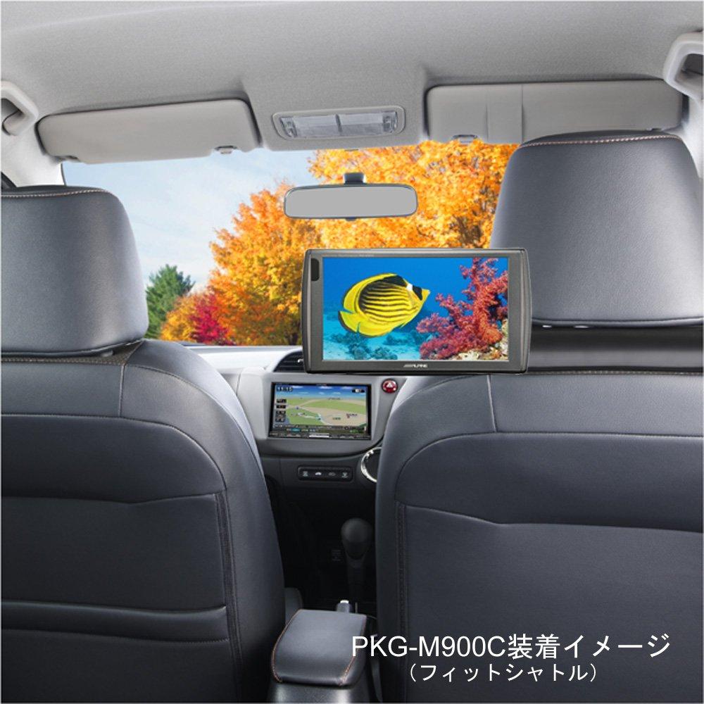 アルパイン LED液晶 PKG-M800SC 高画質WVGA 【ヘッドレスト取付けアーム付属】 8インチリアモニター