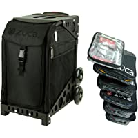 Zuca Stealth Sport Insert Bag with Black Non-Flashing Wheels Frame