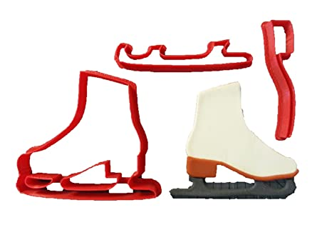 Ice Skate Cookie Cutter Set (4 inch)